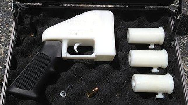 A partir de Agosto se podrán imprimir pistolas en 3 D en Estados Unidos