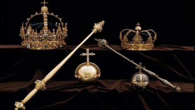Roban joyas de la corona de Suecia a plena luz del día: aún no hay detenidos