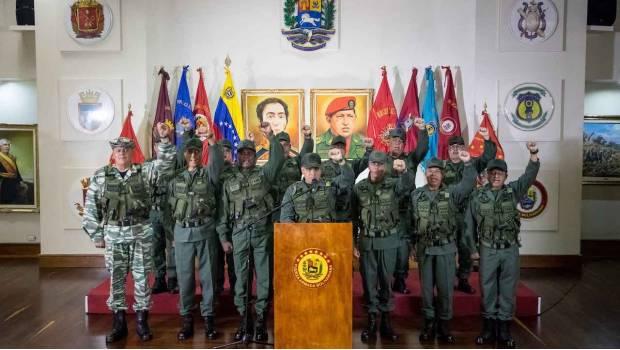 Detienen a 6 personas en relación con el atentando contra Maduro