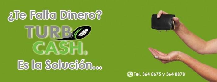 TURBO CASH nueva  opción de financiamiento en Saltillo