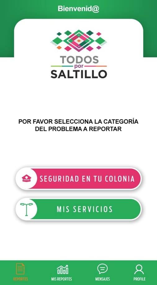 Tiene Saltillo App para reportes de seguridad pública y servicios