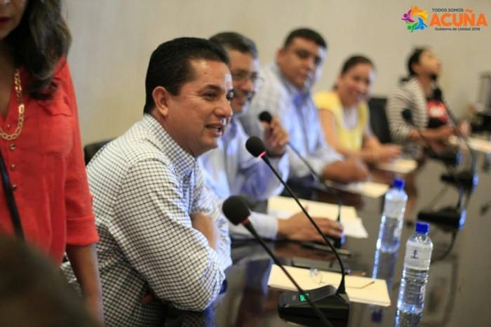 Celebran Primera Sesión de Cabildo de Agosto en Acuña Coahuila.