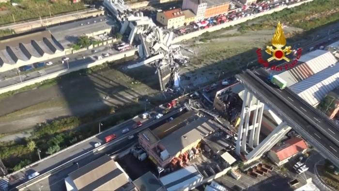 La cifra de muertos por el derrumbe del puente de Génova se eleva a 39