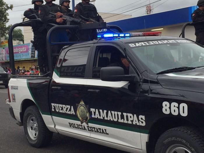 Policías estatales de Tamaulipas abaten a cinco personas armadas