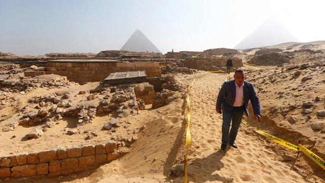 Hallan en Egipto restos de un pueblo más viejo que los primeros faraones