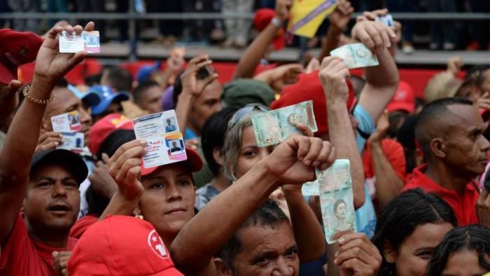 La cartilla de racionamiento de Maduro