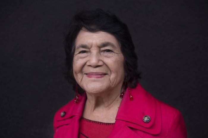 Dolores Huerta, la mujer que inventó el 'Yes We Can'