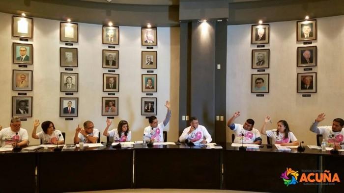 Aprueban Iniciativa de Ley y Presupuesto de Ingresos 2019 por 722 mdp para el Municipio y Simas en Acuña Coahuila.