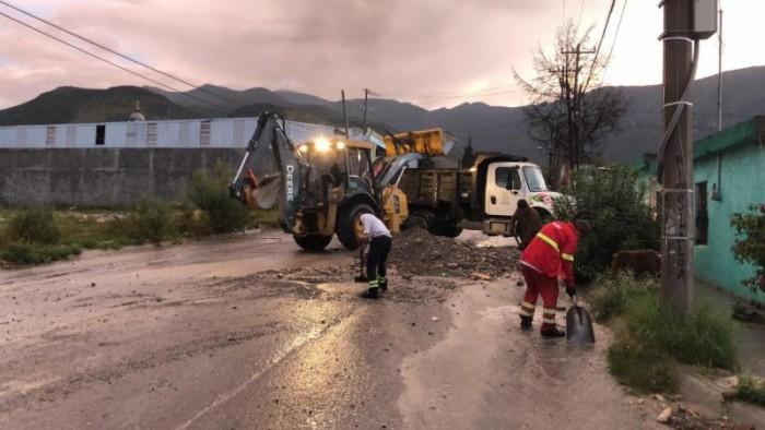 Apoya gobierno municipal a afectados por lluvias