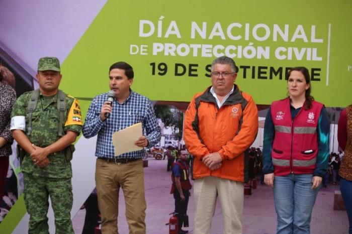 Saltillo se suma al Macro Simulacro en el Día Nacional de Protección Civil