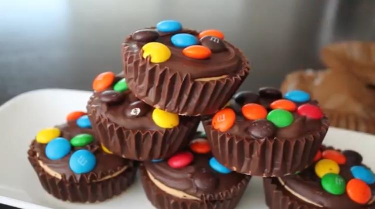 Cupcakes sin horno y con 6 ingredientes.