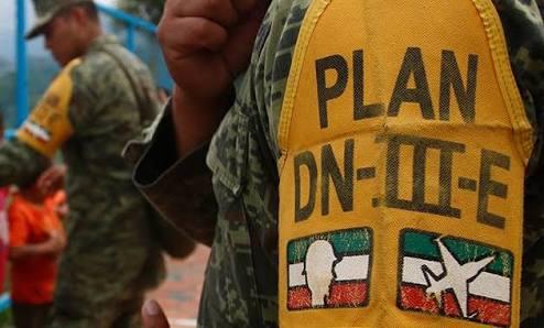 Planes de defensa de México para casos espesificos.