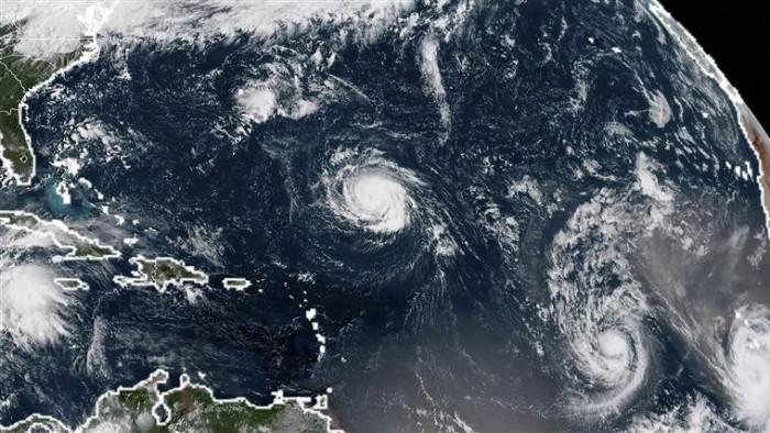 'Florence' continúa su avance a las Carolinas