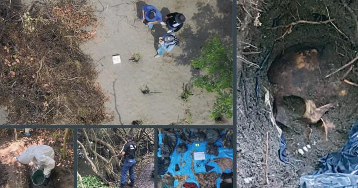 Hallan 166 cuerpos en 32 fosas clandestinas en Veracruz