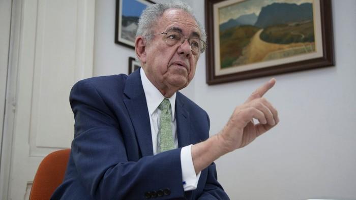 """""""Está mal"""" estudio de ingenieros sobre aeropuerto en Santa Lucía, afirma Jiménez Espriú"""
