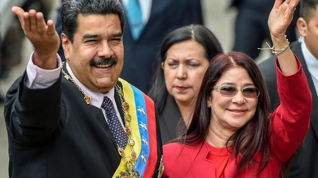 El departamento del Tesoro de EU impuso sanciones a esposa de Maduro y colaboradores
