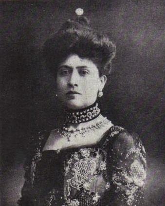La primera hija de Porfirio Díaz.