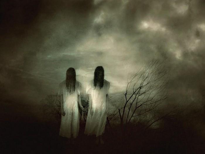 Leyenda de terror, el fantasma.