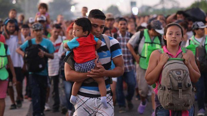 UNICEF alerta sobre peligros para niños en caravana de migrantes