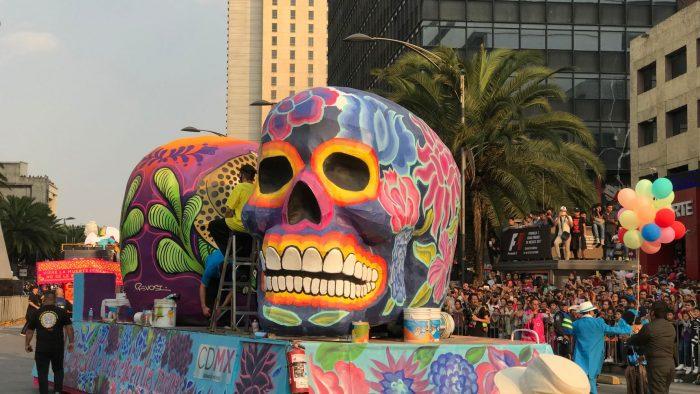 Desfile del Día de Muertos en la CDMX