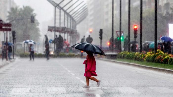 SMN pronostica tormentas intensas y muy fuertes en gran parte del país