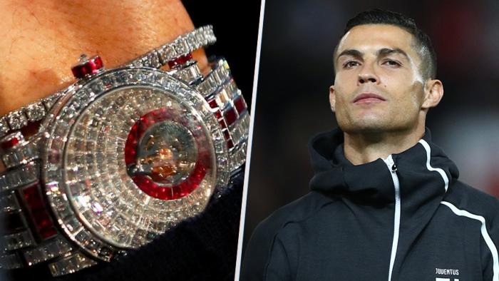 Con el reloj de CR7 se puede pagar el salario anual de 418 jugadores de la Serie A
