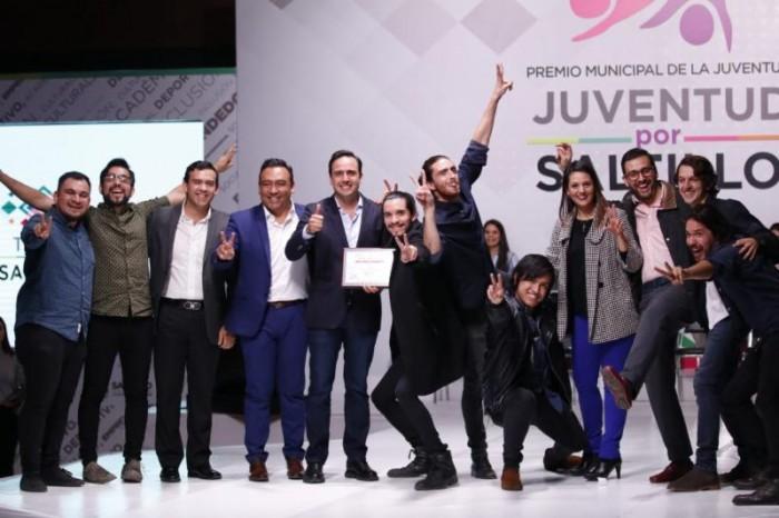 Entrega Manolo Jiménez el Premio Municipal de la Juventud 2018