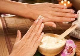 Crema natural para las manos.