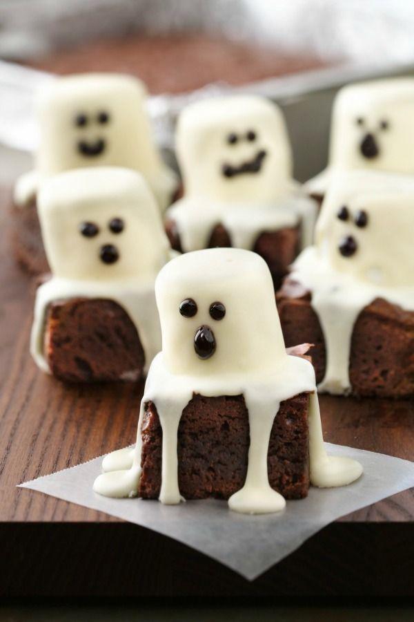 Brownies fantasmas.
