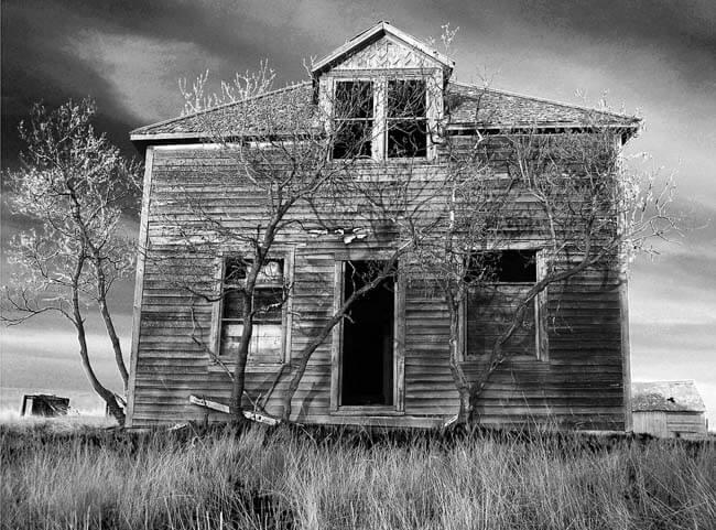 La casa del miedo.