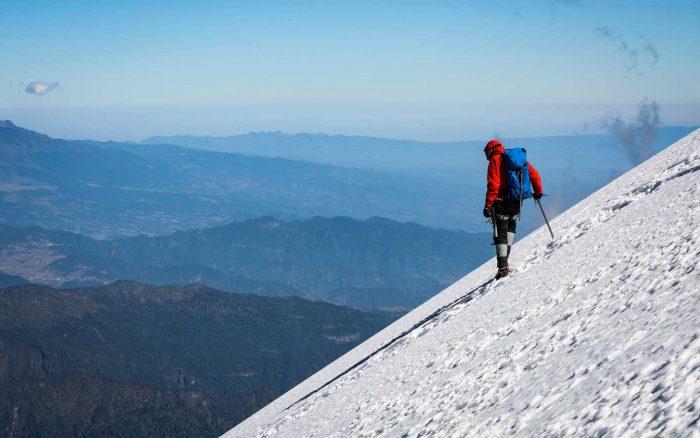 Fallecen alpinistas en el Pico de Orizaba