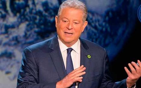 Estamos en una emergencia mundial por el calentamiento global, señala Al Gore