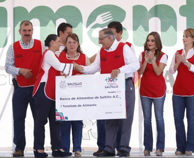 Gobierno Municipal se suma a la Colecta Anual del Banco de Alimentos