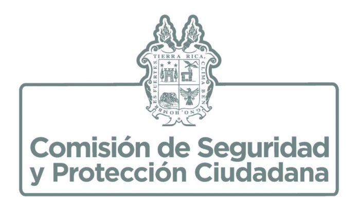 COMUNICADO DE LA COMISIÓN DE SEGURIDAD Y PROTECCIÓN CIUDADANA
