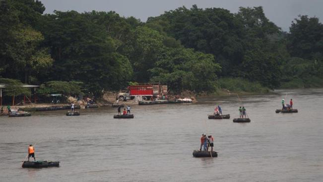 Caravana Migrante continúa su camino hacia Tapachula