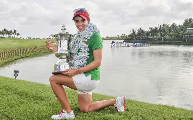 Gaby López se corona campeona de la LPGA
