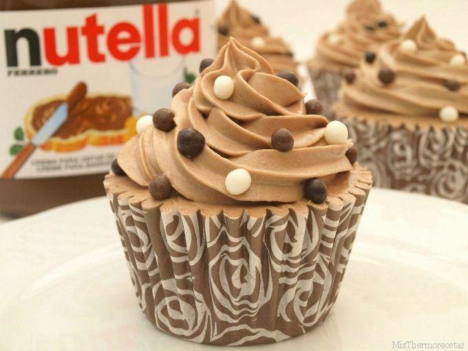 Cupcakes de Nutella.