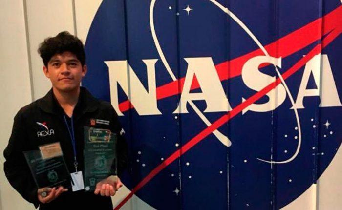 Jonathan Sánchez Pérez estudiante mexicano obtiene segundo lugar en concurso de la NASA