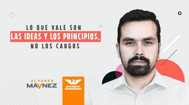 Eligen a Jorge Álvarez Máynez como secretario general de MC