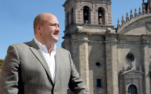 Anuncia Alfaro Fiscalía Estatal y Secretaría de Seguridad en Jalisco.