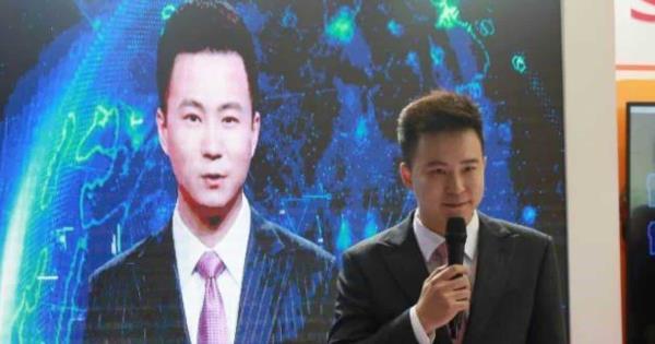 China estrena presentadores artificiales de televisión