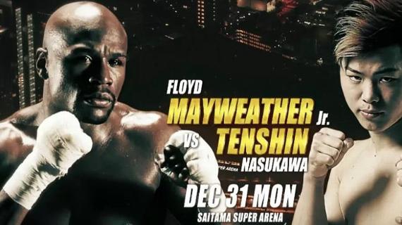 Floyd Mayweather Jr. anuncia pelea de MMA en Japón.