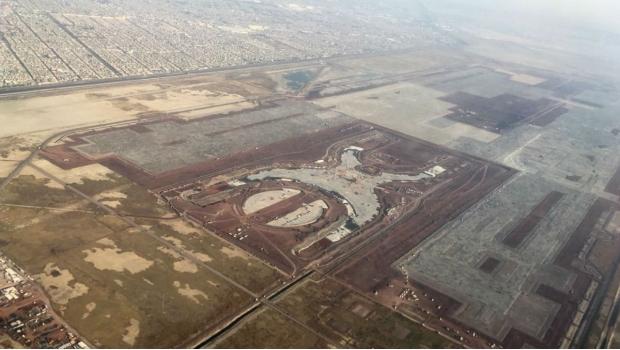 Por amenazas de demandas, nuevo gobierno continuaría con obras del NAICM en Texcoco