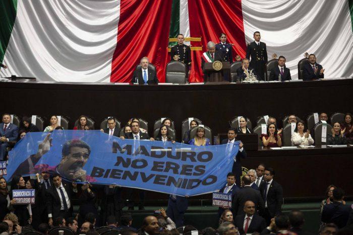 Maduro y Ortega, ausentes en la investidura de López Obrador