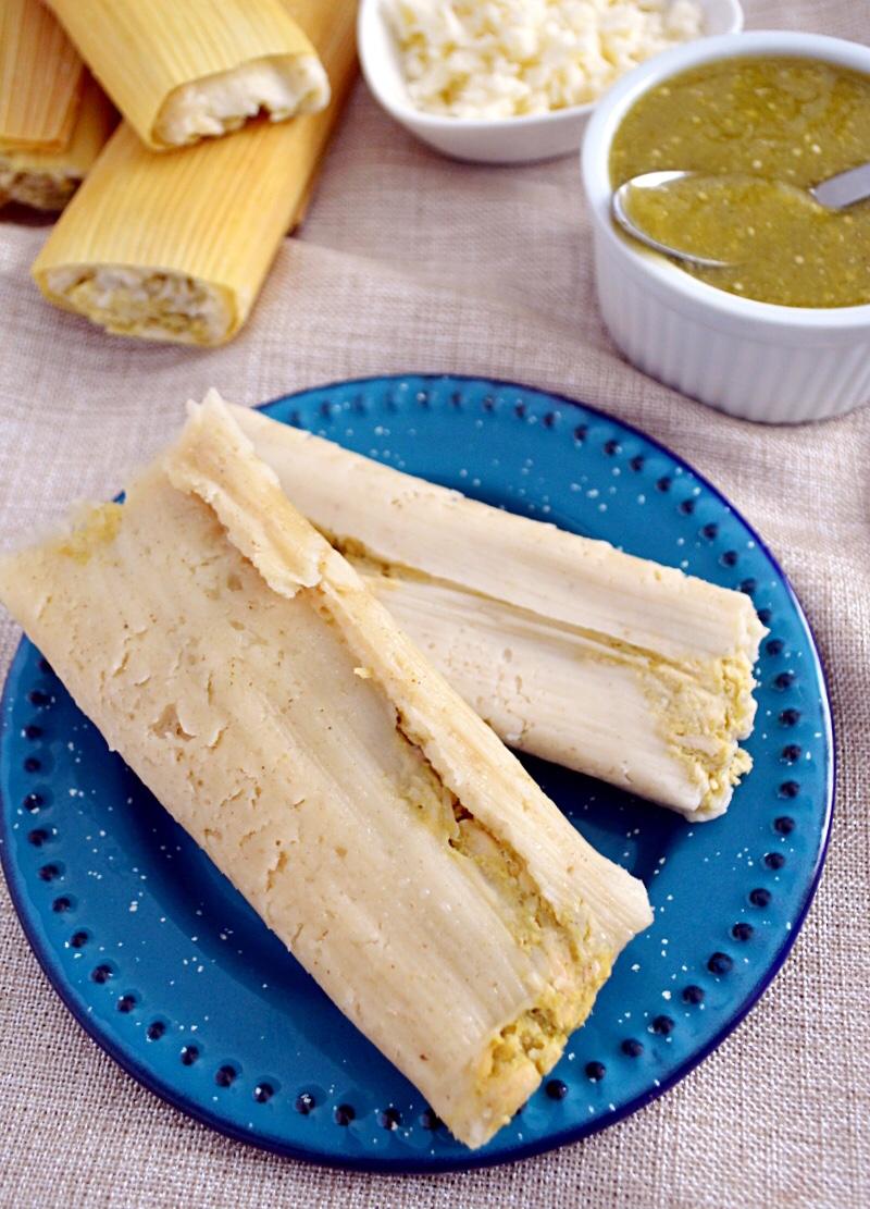 Receta de Tamales de Pollo.
