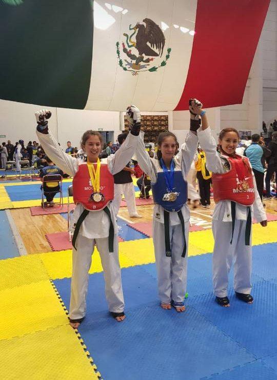 Triunfan deportistas de Saltillo en Nacional de Tae kwon do