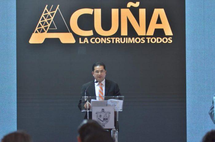 Rinde 1er Informe de Gobierno Alcalde Roberto de los Santos, en Acuña.