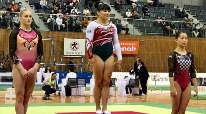 Alexa Moreno se queda con el Oro en la Copa Toyota de Japón
