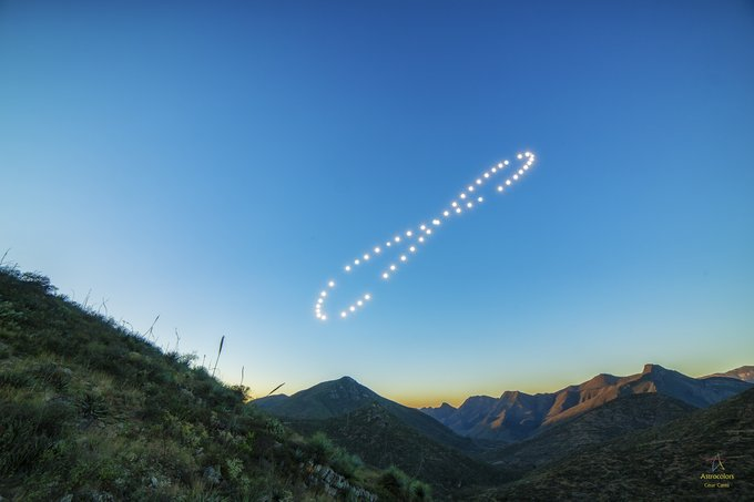 Tomó una foto diaria al Sol por 365 días y esta es la maravilla que surgió