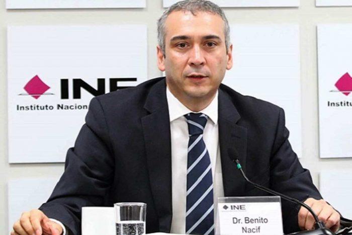 Impugna Benito Nacif presupuesto del INE que incluye reducción salarial a consejeros